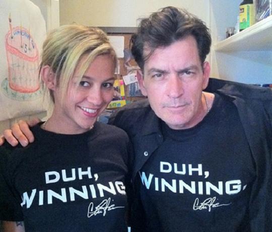 Charlie Sheen 2011 - Winning