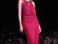 Heidi Klum @ Red Dress